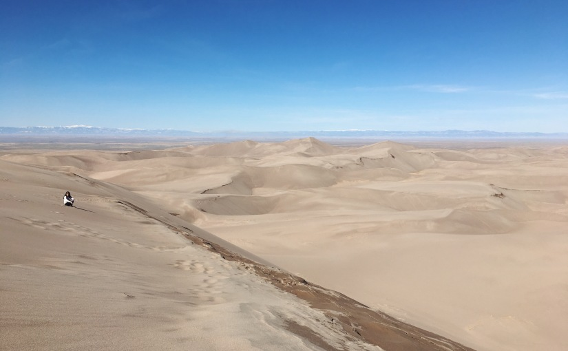 road trip to great sand dunes and mt.humboldt