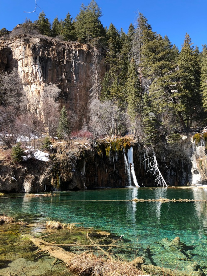 Hanging Lake views