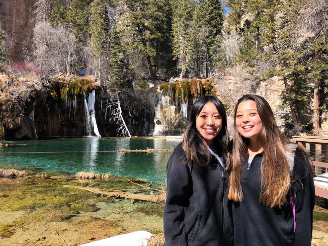 Hanging Lake views with Kristin