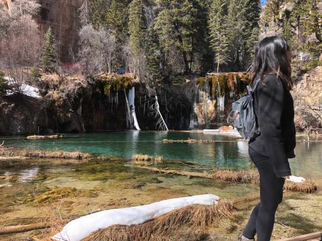 Hiking to Hanging Lake
